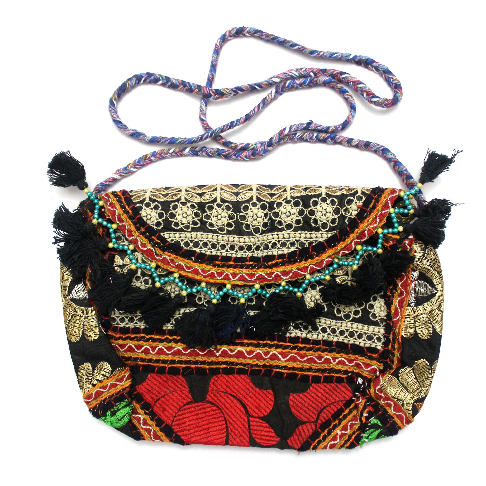 Indian Tribal Antique Vintage Coin Pouch,Handmade Pouch,Vintage Bag,Beads Coin Purse,Coin Purse,Money Purse Banjara Coin Pouch,Beads Purse