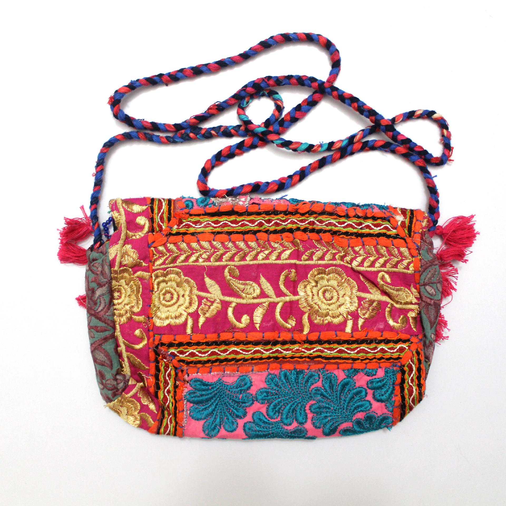 556ab8ca07 Vintage Tribal Banjara Indian Handmade Ethnic Women Purse Multicolor ...